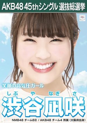 AKB48 45thシングル選抜総選挙ポスター 渋谷凪咲