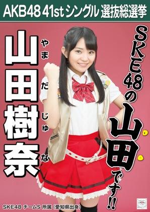 AKB48 41stシングル選抜総選挙ポスター 山田樹奈